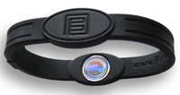 Energiarmband golf sport PE medium svart