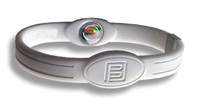 Energiarmband golf sport PE medium vit