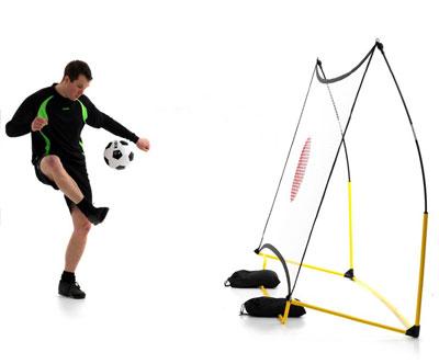 Fotbollsnät mål mobilt studsnät 244 cm x 152 cm