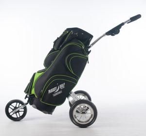 Golfbag + Golfvagn allt-i-ett Komplett + resefodral