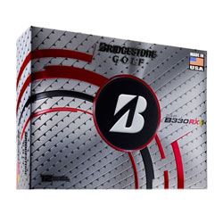 Golf logo bollar Bridgestone Tour B330‑RXS 12-pack