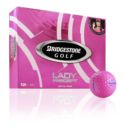 Golf Balls Bridgestone Lady Precept Optic Pink 12 pcs