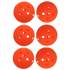 Luftbollar plastbollar golf 12-pack orange