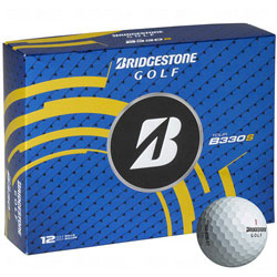 Golf logo bollar Bridgestone Tour B330-S 12-pack