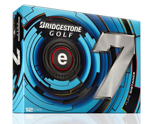 Golf logo bollar Bridgestone e7 12-pack