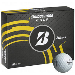 Golf logo bollar Bridgestone Tour B330 12-pack