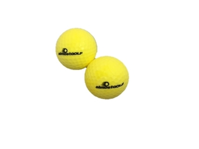 Almost Golf Balls Pro Practice balls  Yellow 12-pack