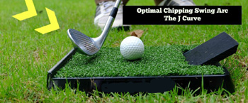 Golf Chip Pro mattan paket Medium