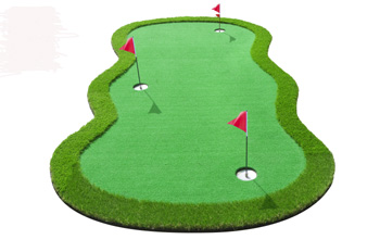 Mini Golf green med ruff 3 x 1.5 meter