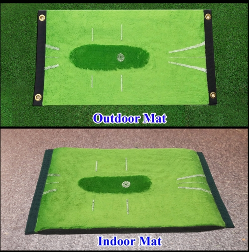 Golf mats with feedback Acu-Strike Outdoor + Indoor package