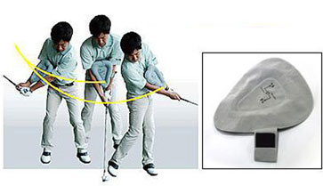 Golf Triangle Swing Ball
