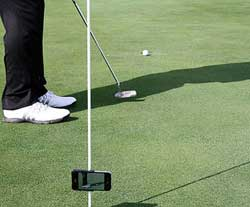 iPhone-hållare PLUS med stativ golf