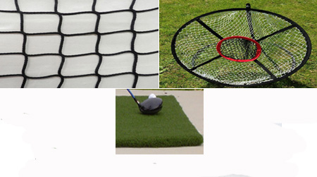 Golf Home Practice Package Basic Plus Indoor Outdoor