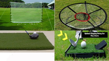 Golf Home Practice Package Basic Plus Deluxe Outdoor