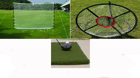 Golf Home Practice Package Basic Plus Outdoor