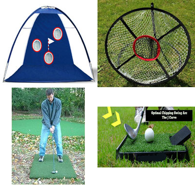 Golf Home Practice Package Extra Plus Deluxe indoor outdoor