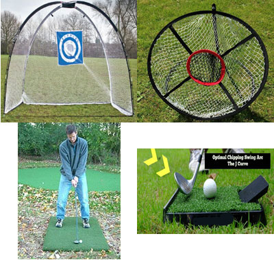 Golf Home Practice Package Extra Plus Deluxe Outdoor