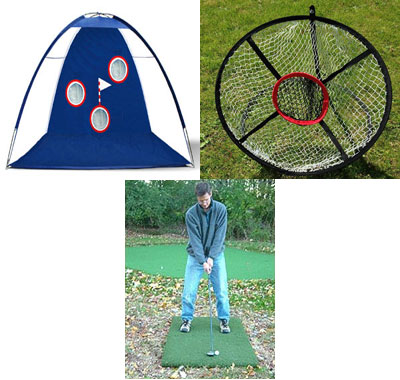 Golf Home Practice Package Extra Plus indoor outdoor