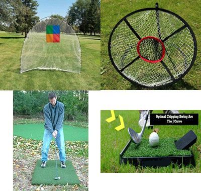 Golf Home Practice Package Mobile Basic Plus Deluxe In/Out