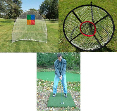Golf Home Practice Package Mobile Basic Plus Outdoor Indoor