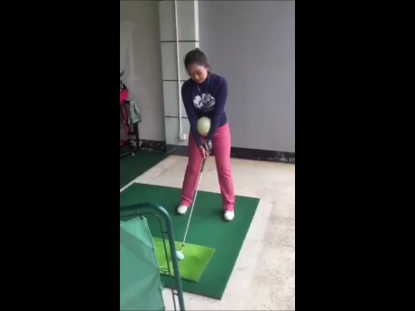 Golf Swing Impact Ball