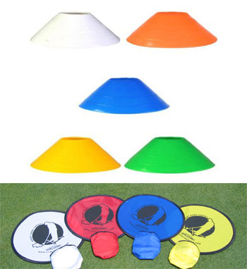 Distance Cones + Short Game Targets golf package