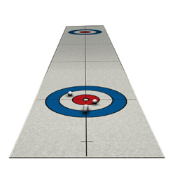 Curling Golf Puttspel