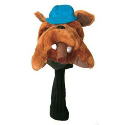 Headcover hund bulldog