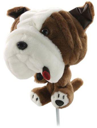 Headcover golf bulldog jumbo
