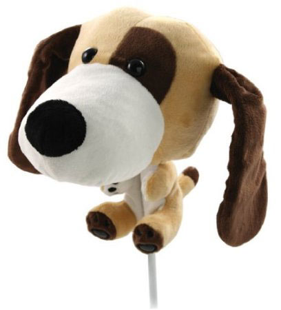 Headcover golf hund jumbo