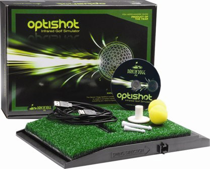 Golf simulator f�r hemmabruk Optishot