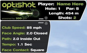 Golf simulator Basic paket + stance matta