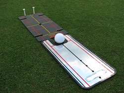 Putt gate trainer + spegel Basic (liten)