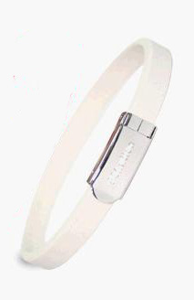 Energiarmband sport/fashion vit