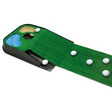 Golf Putting Mat with Return
