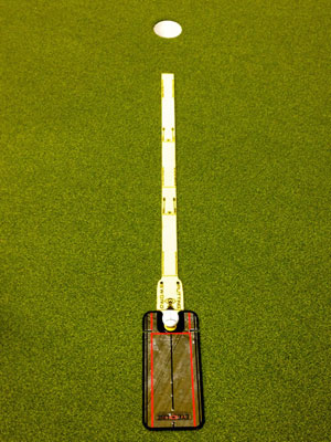 True Putting Roll Trainer + spegel