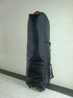 Golf Travel Cover Large Extra Padding with wheels black