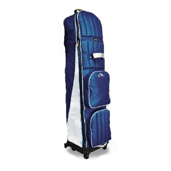 Golf Travel Cover 4 wheeled Deluxe navy/silver