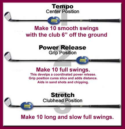 Golf Extra Swing Weight System