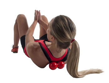 Dubbel punktmassage trigger point boll