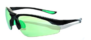 Solglas�gon golf Easy-Green svart