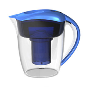 Water Filter Jug + Alkaline Filter Jug M 2-in-1 blue
