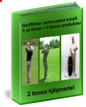 Golffilmer Senior-paket medium Video
