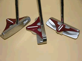 Pure roll & strike putter 2thumb höger