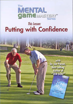Mental game: Putting with confidence DVD